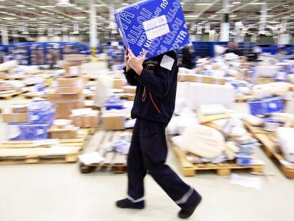 Спрос на услуги «Почты России» по доставке товаров из российских интернет-магазинов упал на четверть