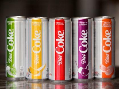 Перезагрузка: Coca-Cola изменит вкус и дизайн диетической колы