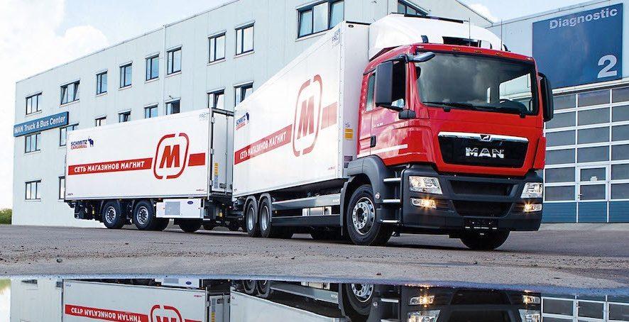 «Почта России» начнёт доставлять продукты из «Магнита»