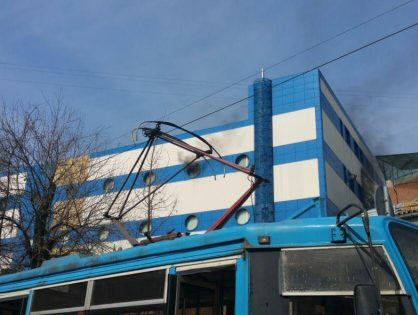 В Москве загорелся детский торговый центр «Персей»