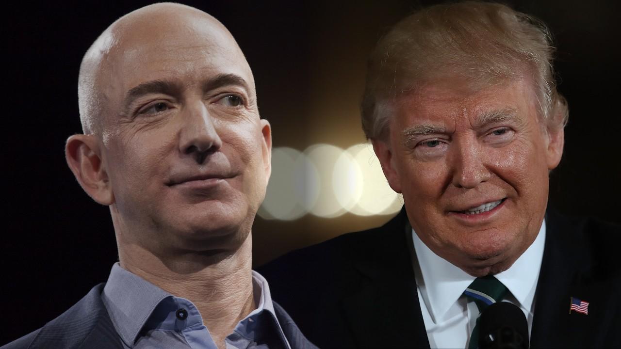 Как поругались Дональд Трамп и Amazon