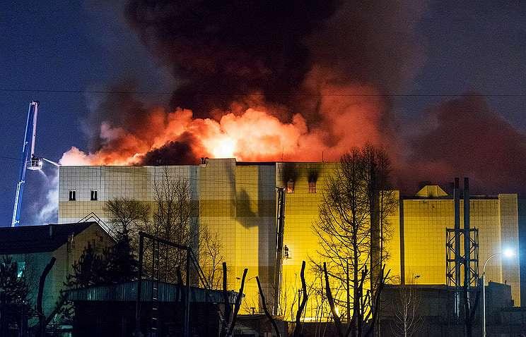 «Зимняя вишня» - 1 год. Крупнейшие пожары в торговых центрах России