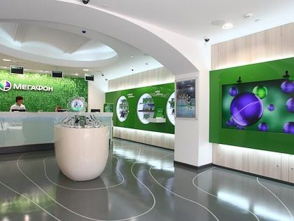 «МегаФон» потратит до 2 млрд рублей на обновление розничных салонов