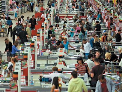 Розничный рынок выходит на уровень 2011 года