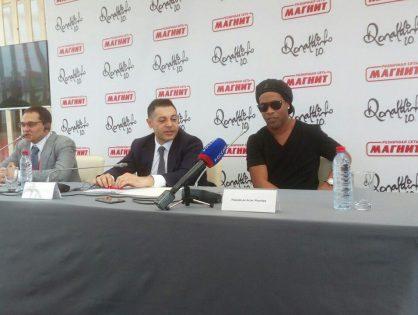 Хачатур Помбухчан («Магнит») провёл первую большую пресс-конференцию. Главное