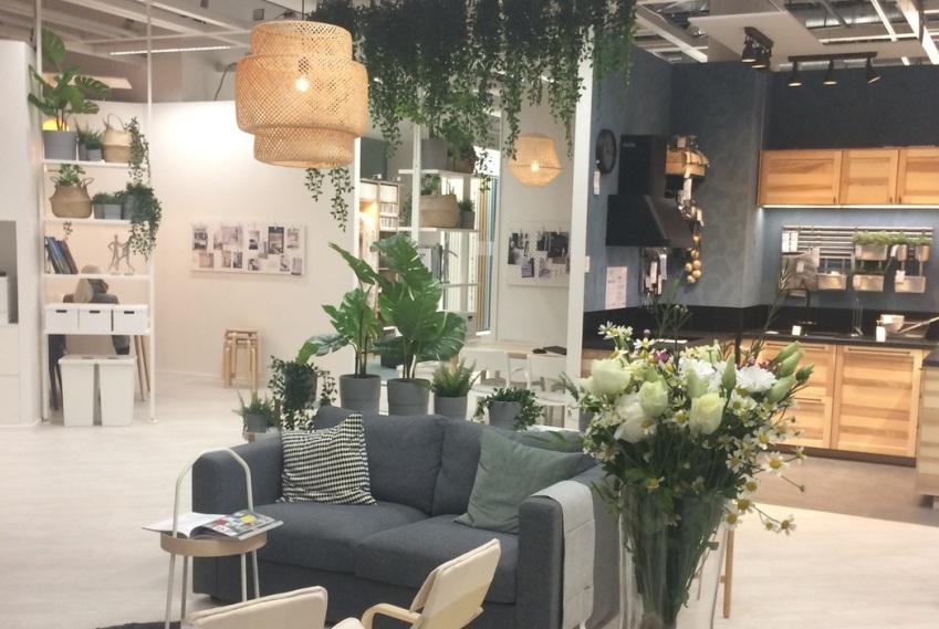 В Санкт-Петербурге открылась первая Дизайн-студия ИКЕА. Фоторепортаж