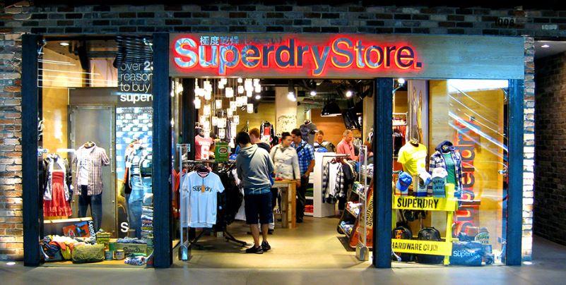 Одёжный бренд Superdry сменил мастер-франчайзи в России