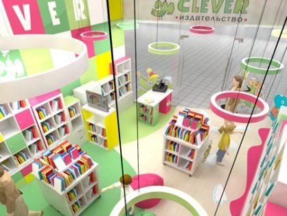 Издательство Clever откроет сеть магазинов по франшизе