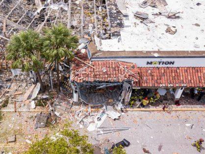 При взрыве в торговом центре рядом с Майами пострадали 23 человека
