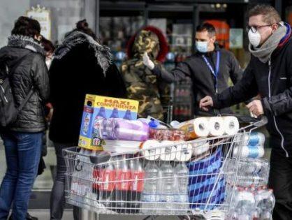 Московские магазины могут обязать запасать продукты на случай распространения коронавируса