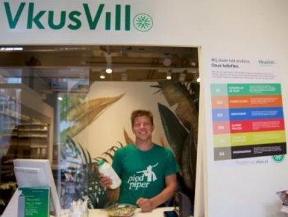 «ВкусВилл» открыл первый магазин в Европе