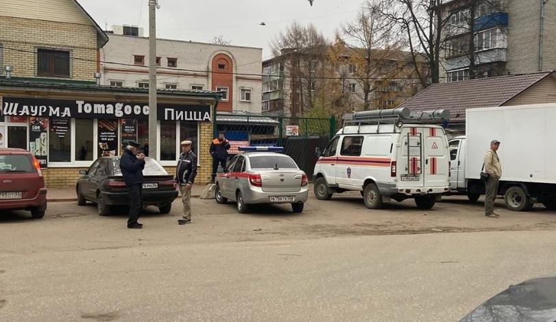 Мужчина взорвал гранату в ТЦ «Рынок Октябрьский» в городе Ковров
