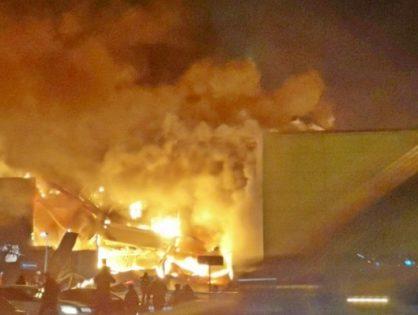 В ТЦ «М5 Молл» в Рязани произошел крупный пожар. Жертв нет
