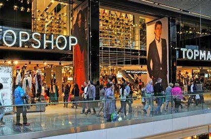 Владелец бренда Topshop начал процедуру банкротства