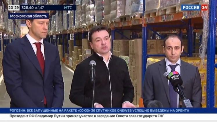 Чиновники проверили наличие продуктов на складе X5 Retail Group
