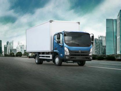 VALDAI NEXT — городской грузовик нового поколения для ритейла