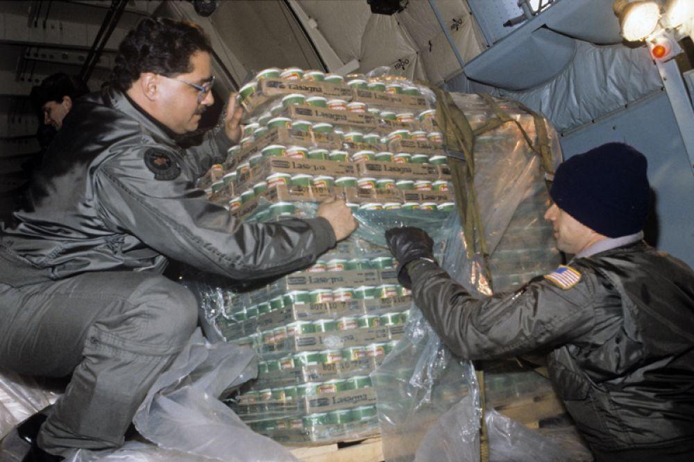 «Дать надежду». Западная гуманитарная помощь